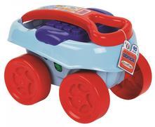 Maxi vozík s kockami 40ks,