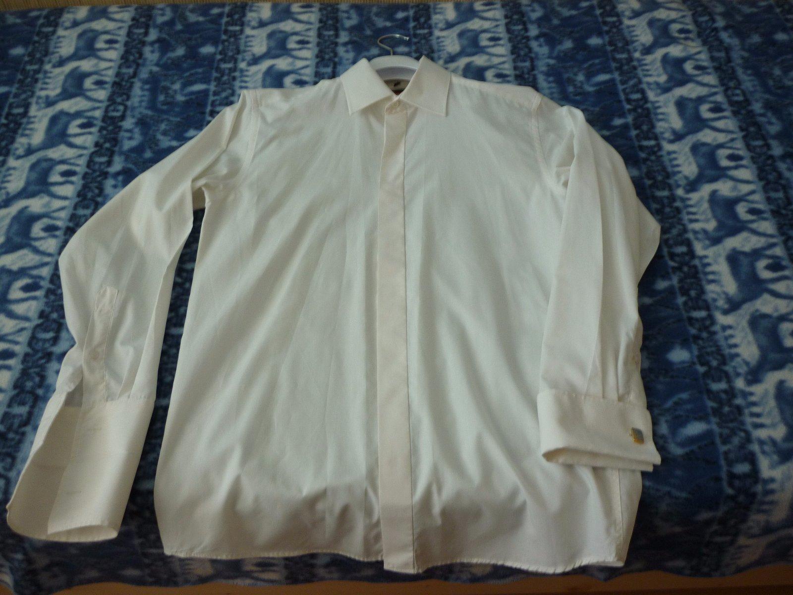 6e02a3705b4f Maslová košeľa s dlhým rukávom