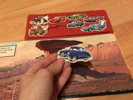 Magnetické knihy cars planes disney fac1a4cf9df