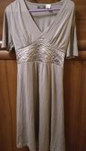 Svetlo sivé šaty, 38