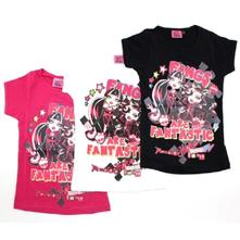 Tričko monster high - ružové, 152