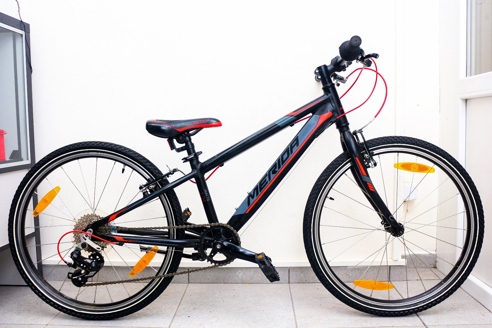 9f81c4e7d8a8 Predám detský juniorský bicykel merida 24 hliník