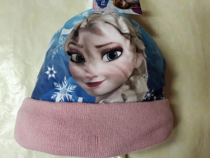 3ed2f2d06 Zimná čiapka frozen modrá a ružová, disney,116 / 134 - 4,90 € od ...