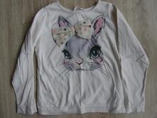 Tričko s zajačikom, h&m,110
