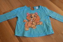 Tričko so psíkom 6-9m , f&f,74