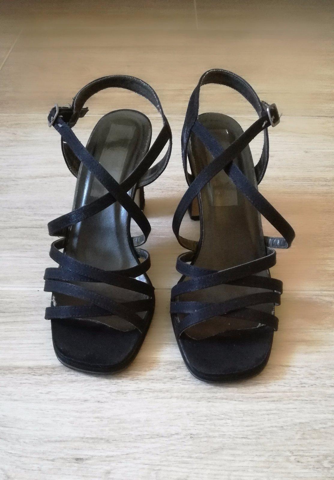ef25f5a2bdcf Remienkové sandále na podpätku
