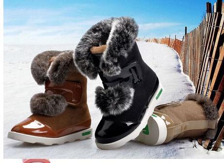 337079f92 Módne zimné topánky- 3 farby- brúsená koža, 26 - 37 - 49,90 € od  predávajúcej amalenka21 | Detský bazár | ModryKonik.sk