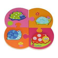 Dvoj-puzzle - záhradka (boikido),