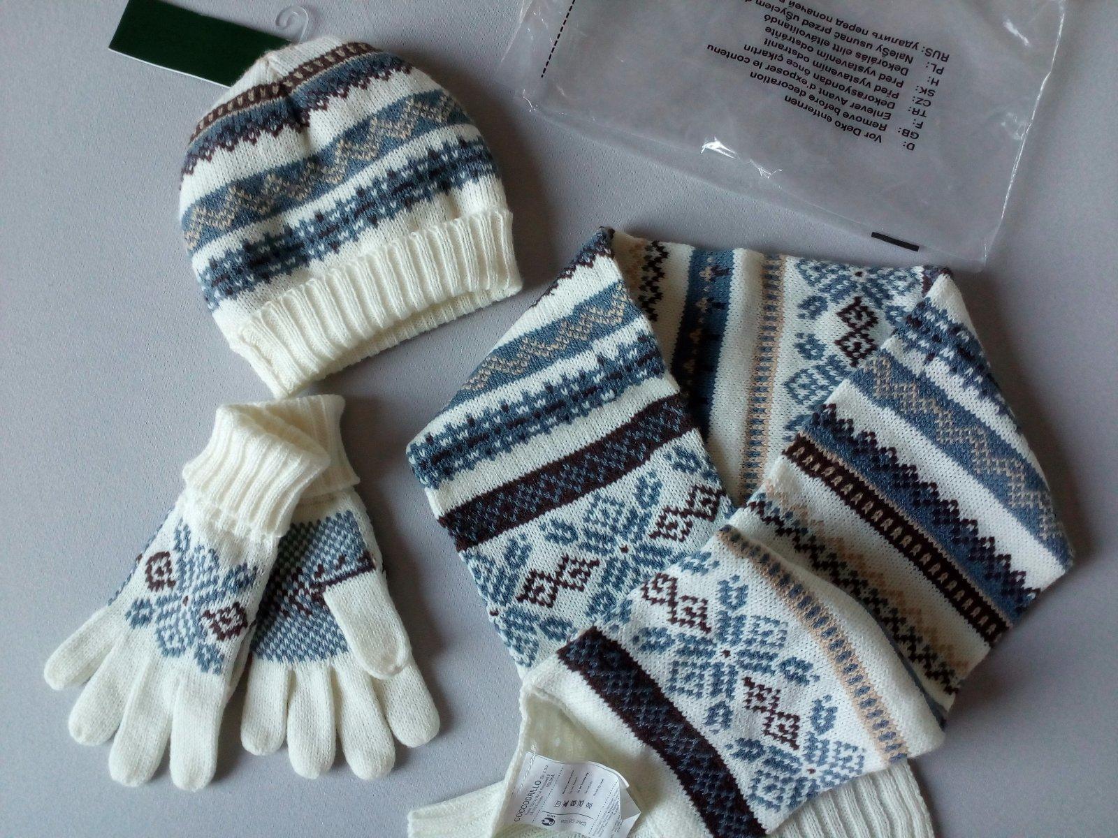 21380f5eb Súprava čiapka+šál+rukavice , coccodrillo,80 / 86 / 92 - 12 € od  predávajúcej janakami | Detský bazár | ModryKonik.sk