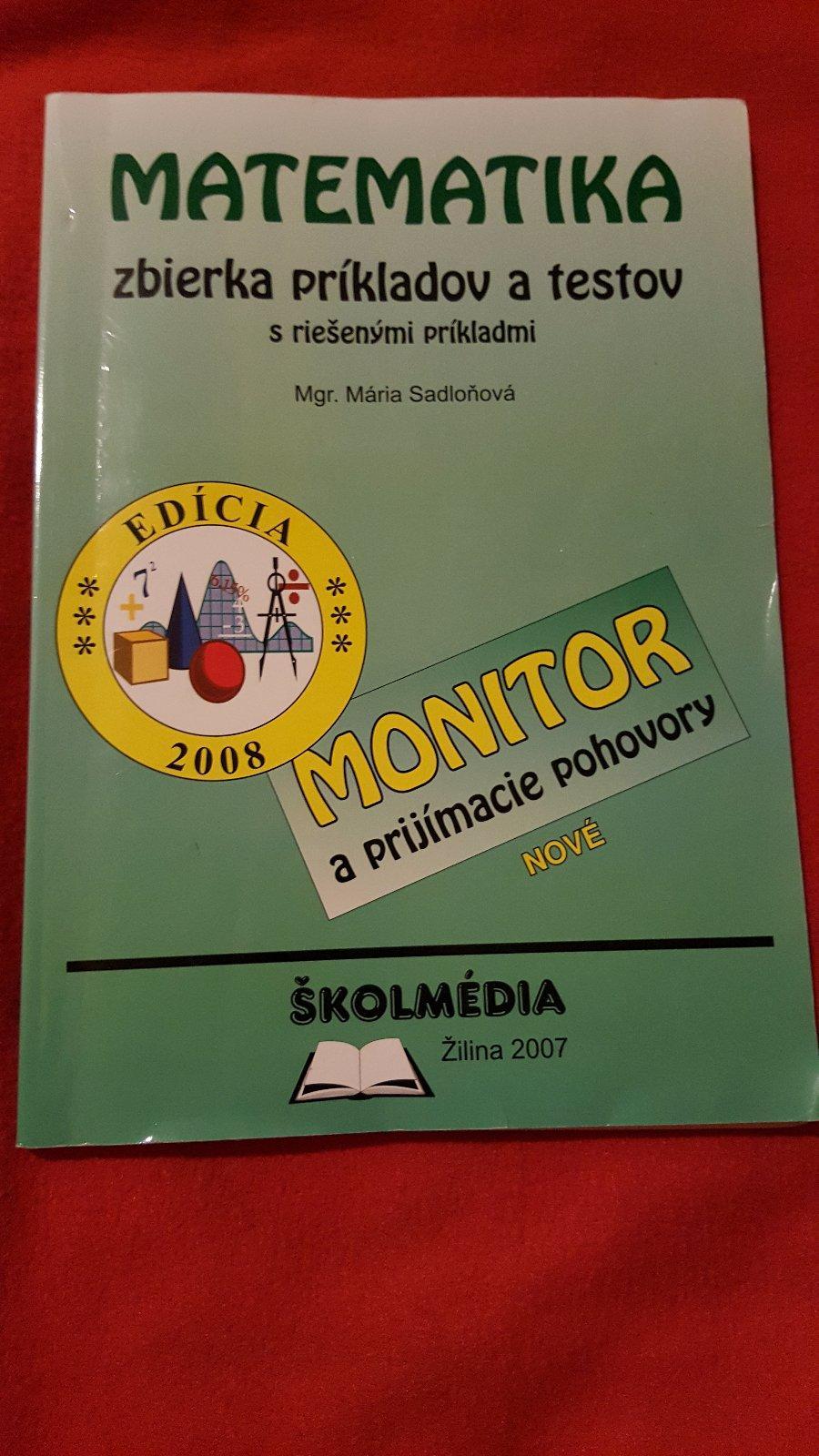 06df4f7ae Matematika monitor, - 4 € od predávajúcej oliviaolivia | Detský bazár |  ModryKonik.sk