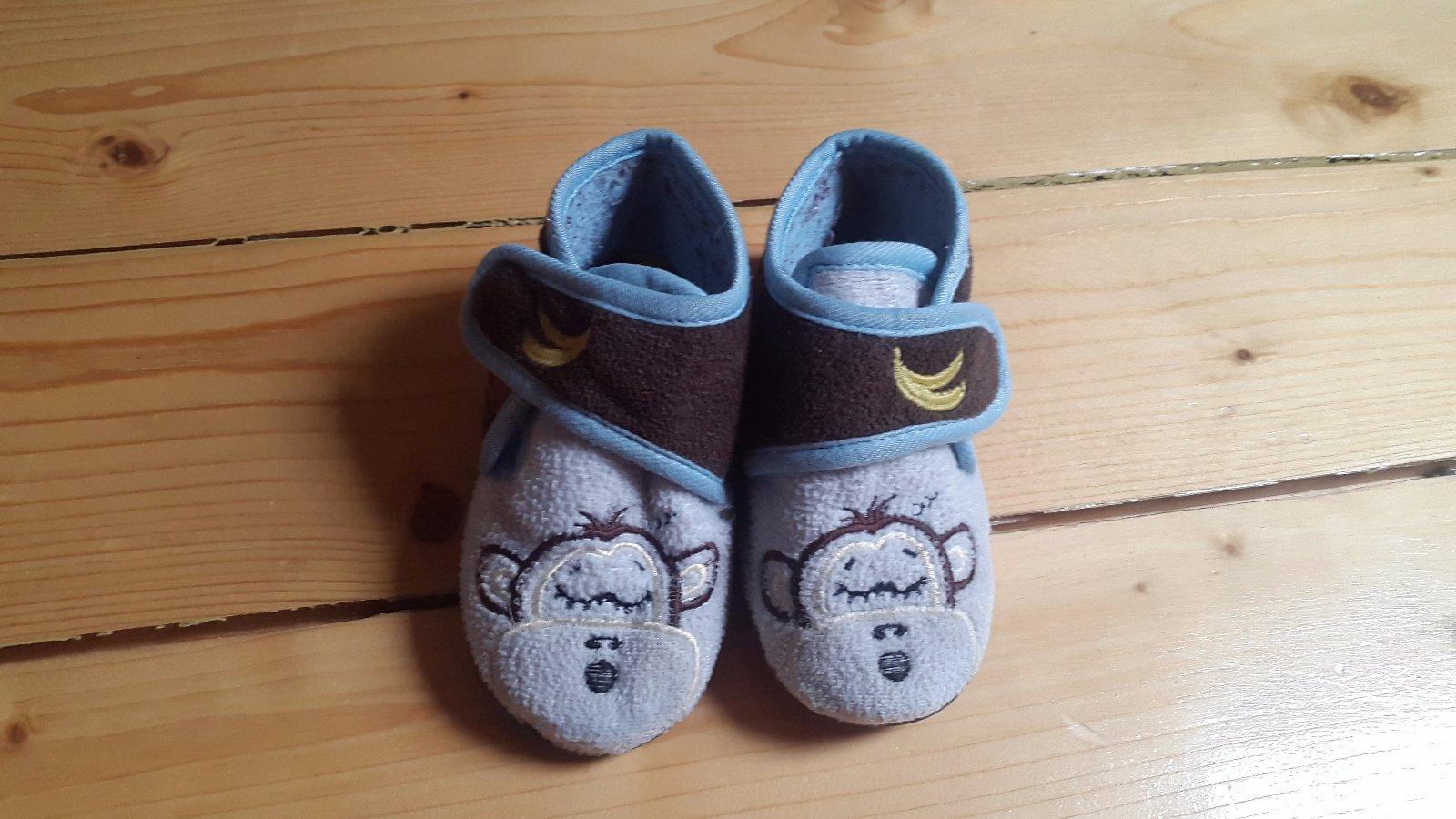 ef20e47e4d Detské papučky opička