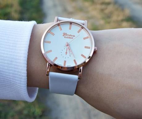 Luxusní dámské hodinky geneva platinum vip biele 9b1d90c4c9