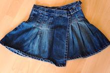 Riflová sukňa, 140