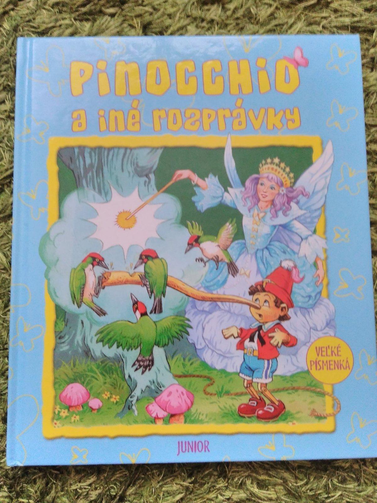 8ef6c03c46dc Detská kniha pinocchio a iné rozprávky