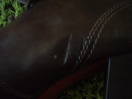 a454340ed2b3 Tmavohnedé šnurovacie topánky na opätku
