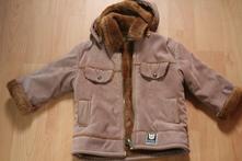Kabátik s kožušinou, 98