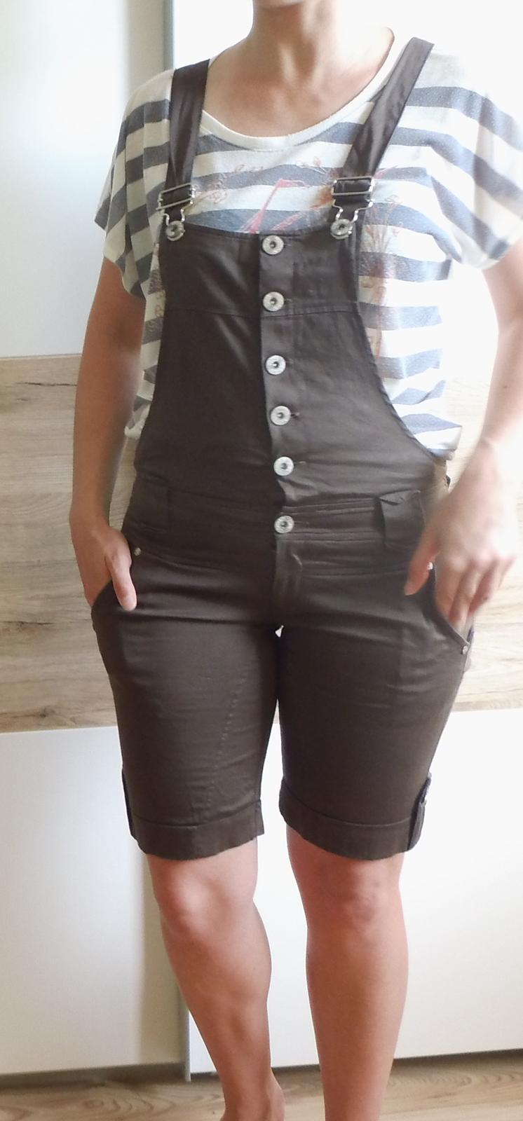 5be87c7d58ce Dámske nohavice na traky