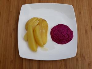 Nove zemiaciky s cviklou