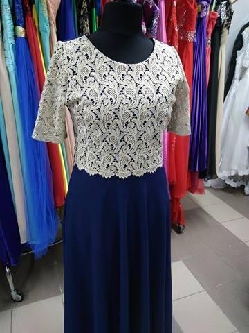 527e86f8478a Spoločenské šaty pre moletku - veľkosť 44
