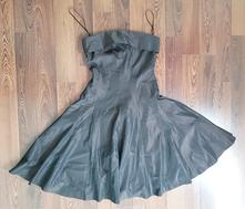 Šaty   Zara   Tmavohnedá - Detský bazár  e522a43b228