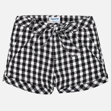 Mayoral dievčenské krátke nohavice 6208-015 black, mayoral,164
