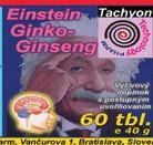 Einstein - ginko ginseng a učenie bude hračkou,