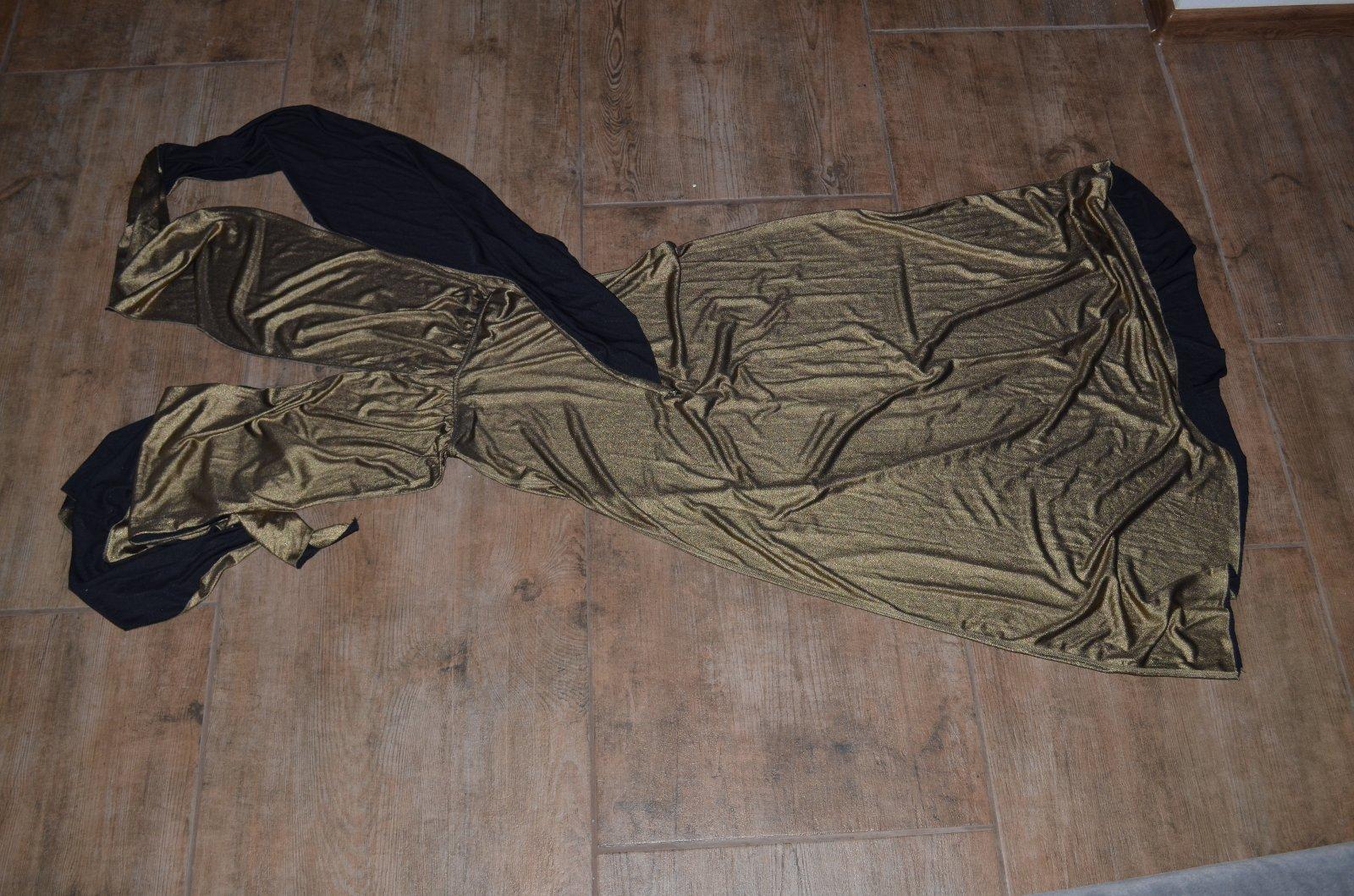 a55175285 Elegantné zlaté šaty viazanie na veľa spôsobov, avon,s - 14,50 € od  predávajúcej sany944 | Detský bazár | ModryKonik.sk