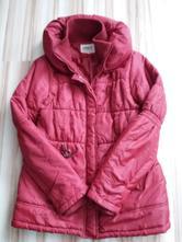Gaštanovočervená zimná bunda na donosenie ad7f98168ac