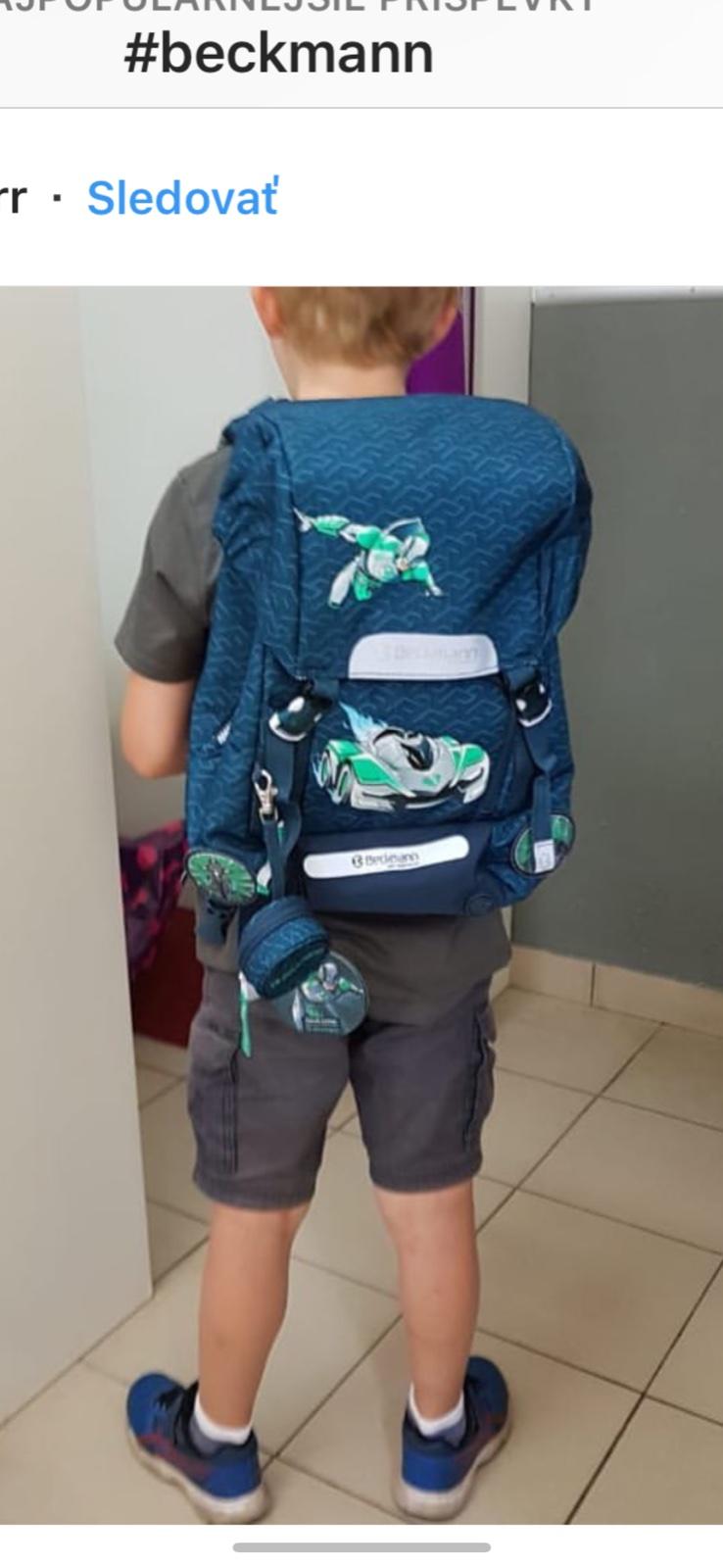 ccef417ade Ak by mal niekto zaujem predam beckmann skolske tasky- uplne nove!  objednane zo zdravy batoh.cz za super cenu 135e cely set - taska