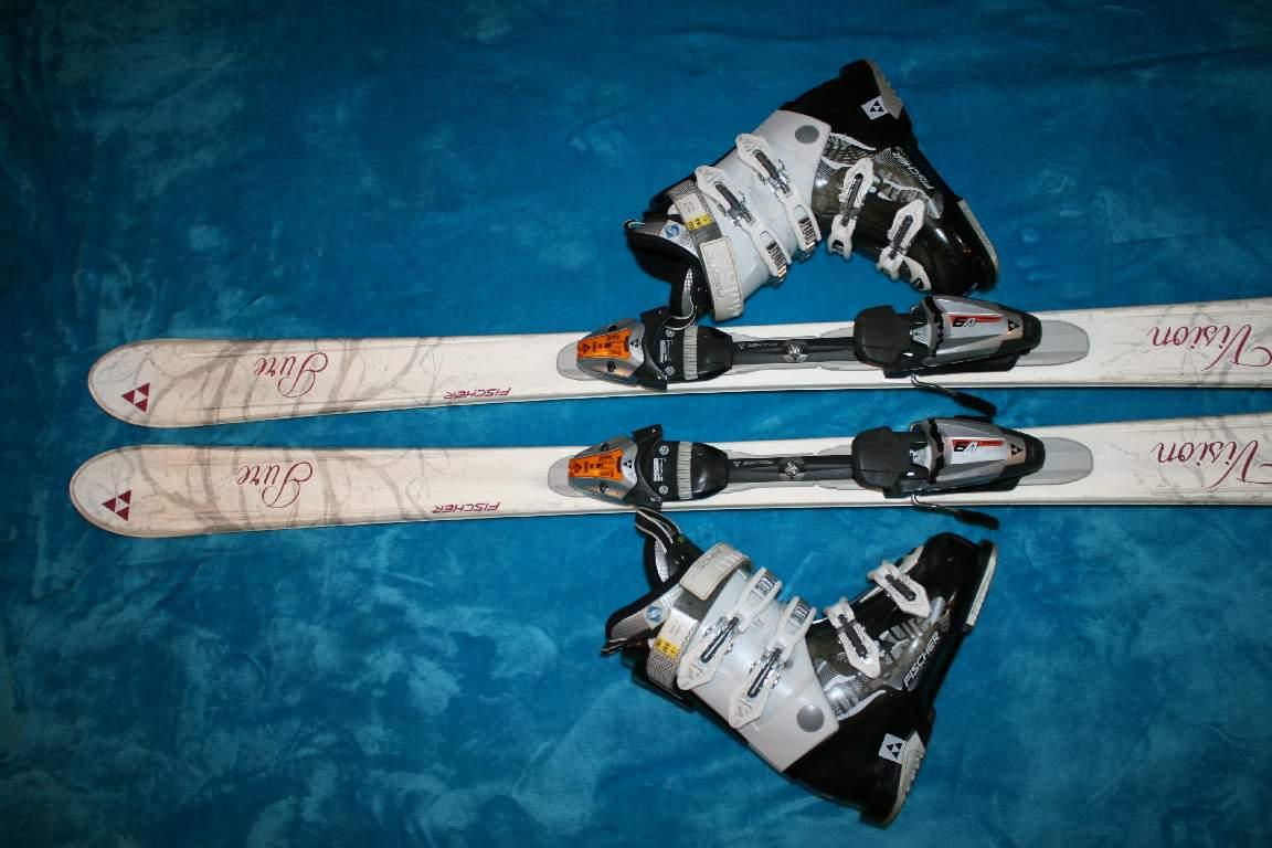Dámske lyže fischer 150 cm  98671f10596