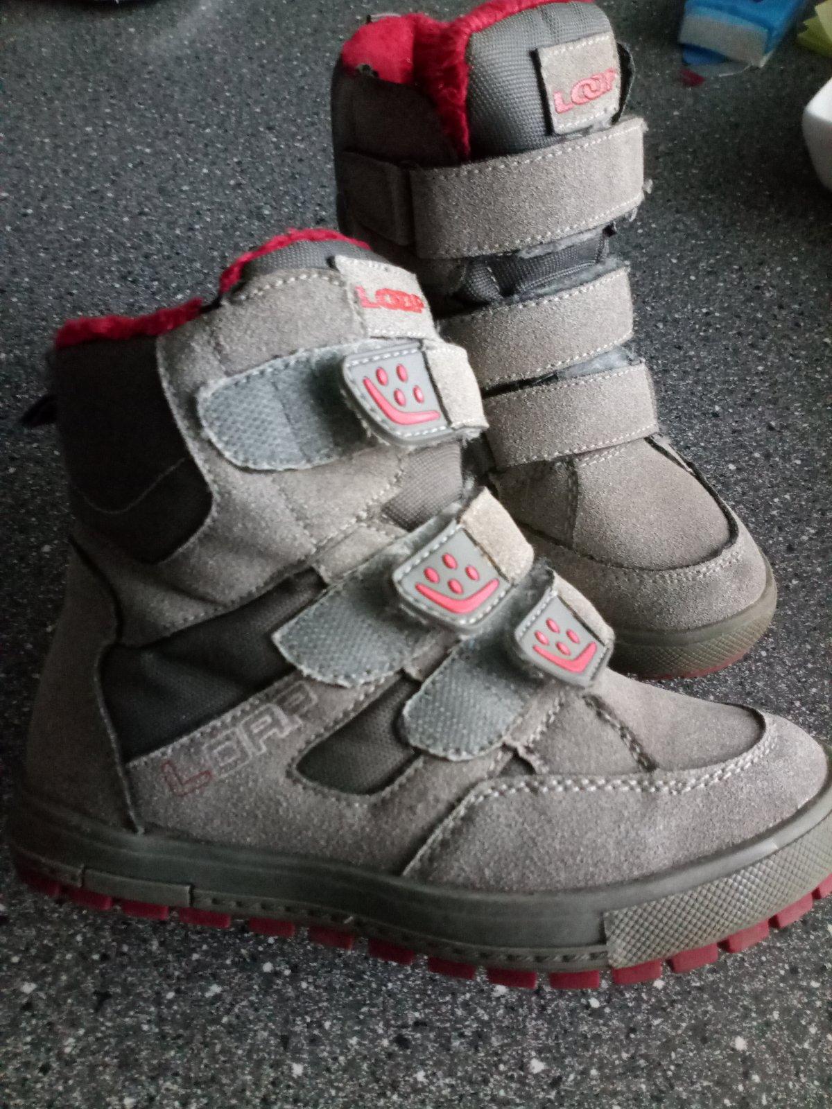 Detské topánky zimné 8e257492c8f
