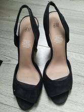 Cierne sandále hm, h&m,37