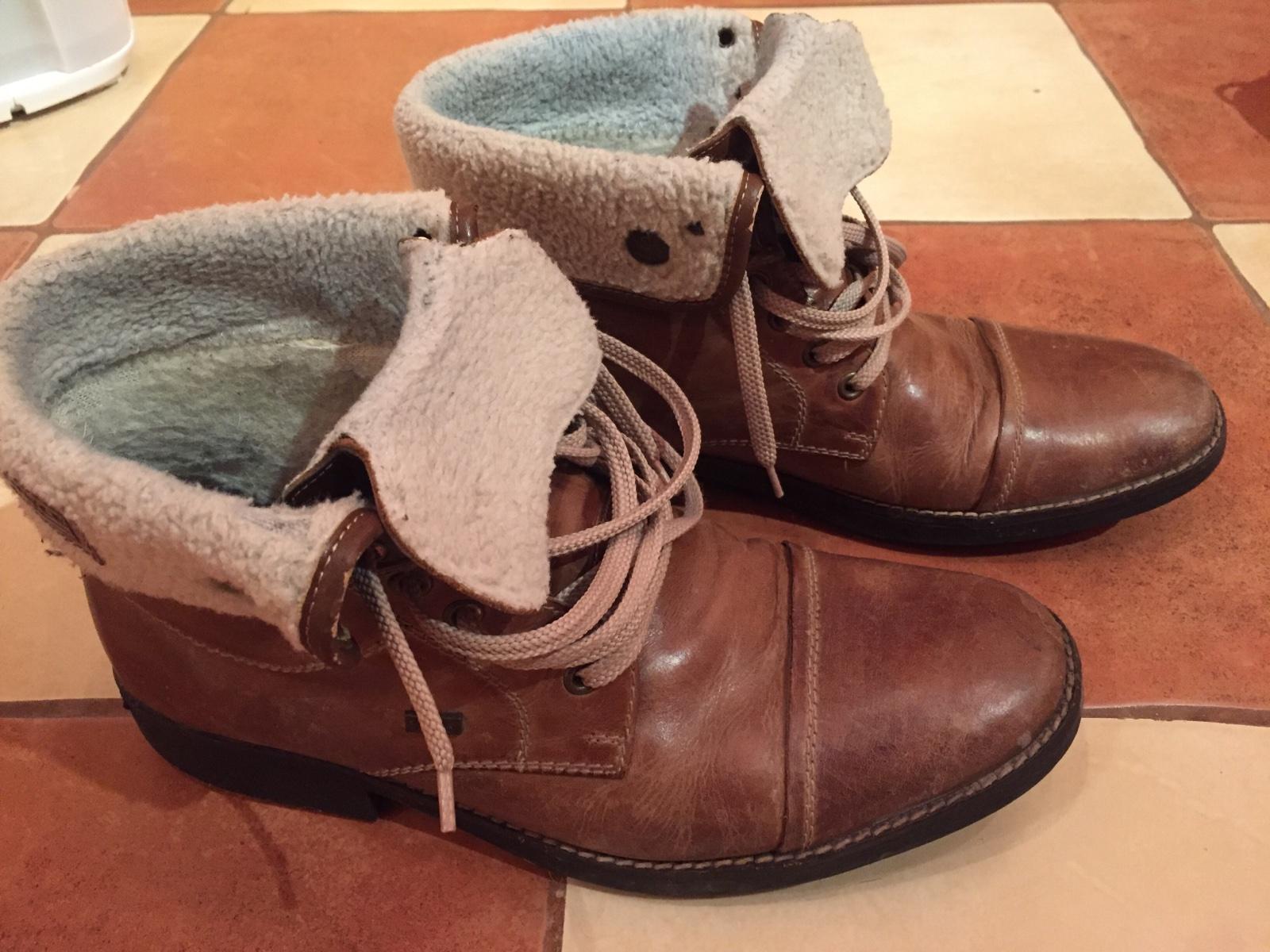 d6120ce2be Zimné pánske topánky