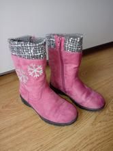 Dievčenské čižmy + 1 topánočky zdarma, deichmann,28