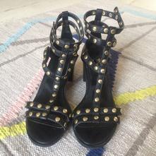 Vybijane sandalky, h&m,37
