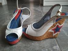 Sandalky na platforme, 37