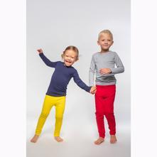 Detské tričko s dlhým rukávom lubime grey, 92 - 134