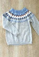 Merino sveter lindex velk.110/116, lindex,110
