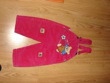 Zateplene nohavice 74-80č, 74