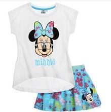 Disney minnie tričko so sukničkou modré   , disney,104 / 116 / 128 / 134 / 140