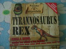 Kniha tyranosaurus rex postav si,