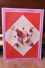 Vyuzijem kazdy kusok papiera - papier na kvety sme malovali s Patrickom