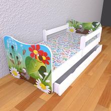 Detská posteľ 180cm x 80cm krtko, 80,180
