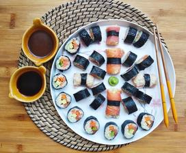 ..obed na zelanie No.6..... sushii