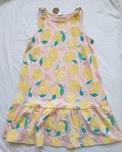 Dievčenské šaty z organickej bavlny, lindex,122 / 128