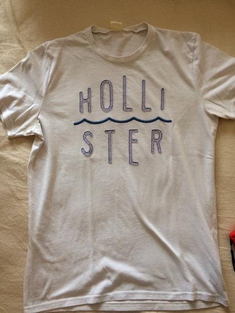 Pánske značkové tričko hollister f3ba18c1eda