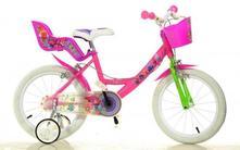 "Detský bicykel dino 164rtro trolls - 16"" ,"