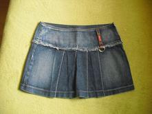 Dámská rifľová suknička, 34