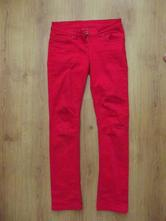Červené nohavice yfk, kik,158