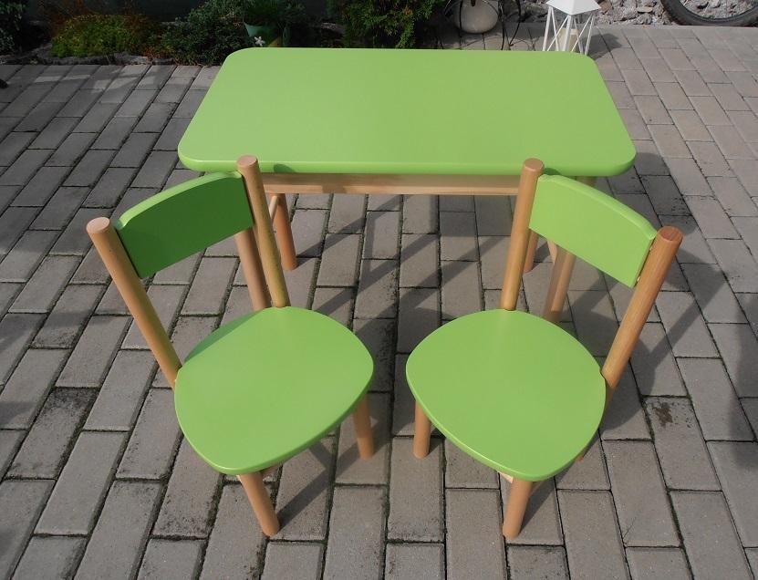 8d3a54793a49 Stolík so stoličkami-buk masív